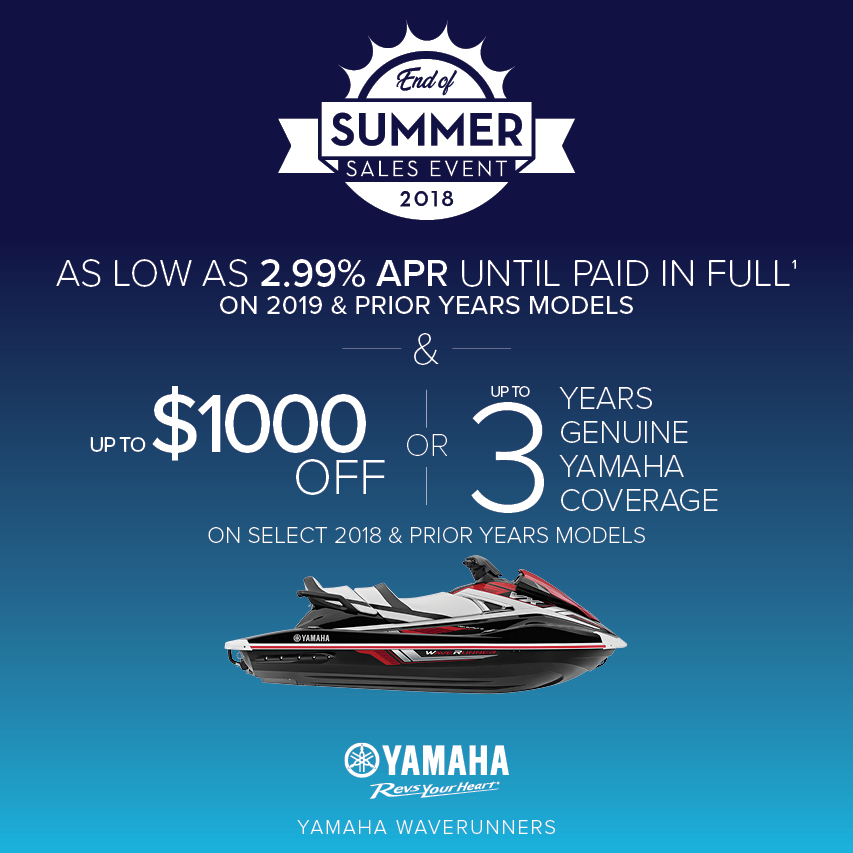 4yamaha promotions us specialty recreation marine